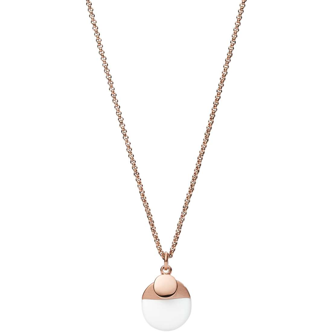 collana donna gioielli Fossil Fashion JF02358791