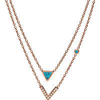 collana donna gioielli Fossil Fashion JF02644791