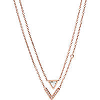 collana donna gioielli Fossil Fashion JF02897791