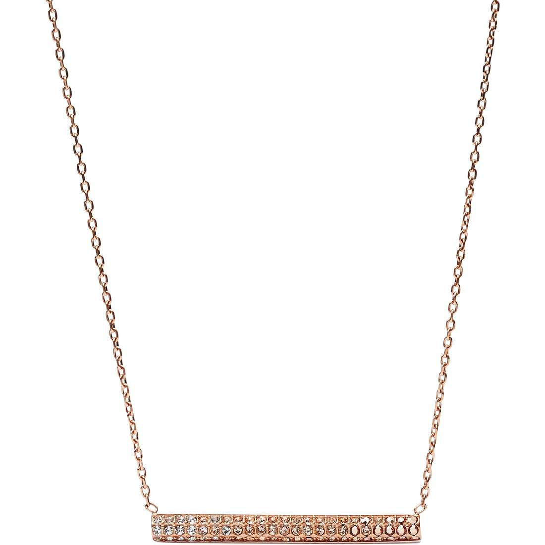 collana donna gioielli Fossil Holiday 15 JF02144791