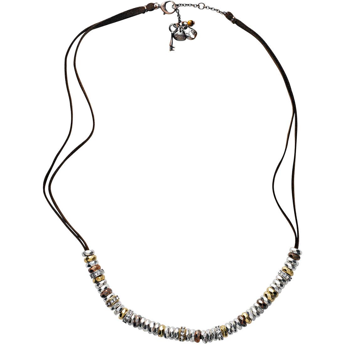 collana donna gioielli Fossil JA3675040
