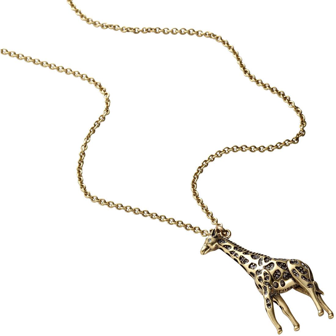 collana donna gioielli Fossil JA5411716