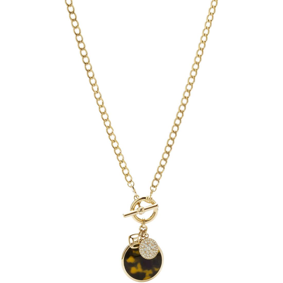 collana donna gioielli Fossil JF00586710