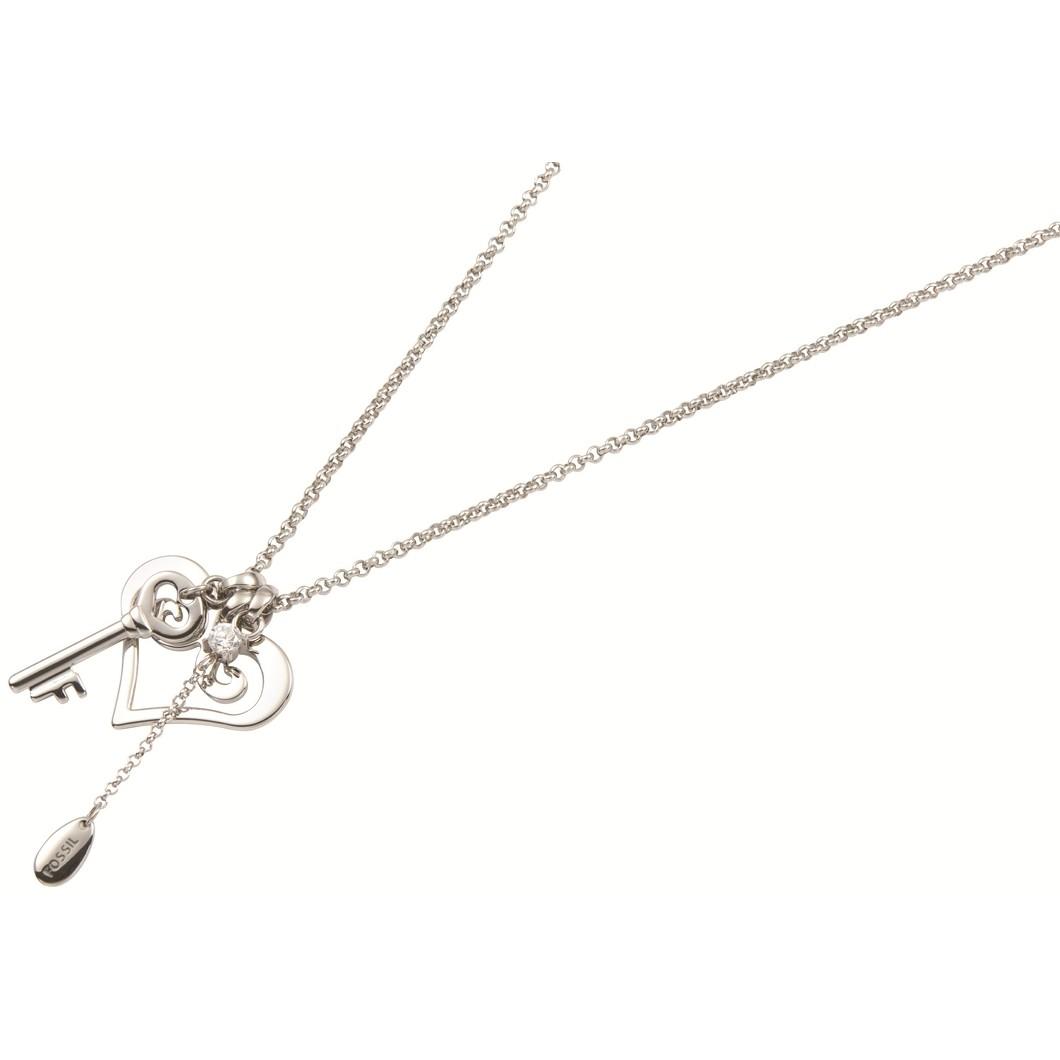 collana donna gioielli Fossil JF84695040