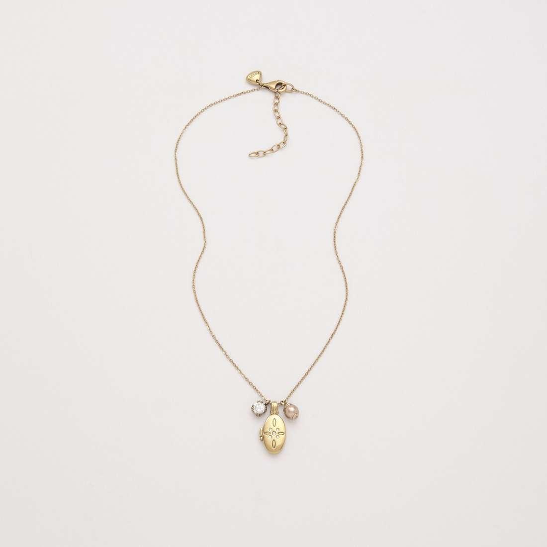 collana donna gioielli Fossil JF86444040