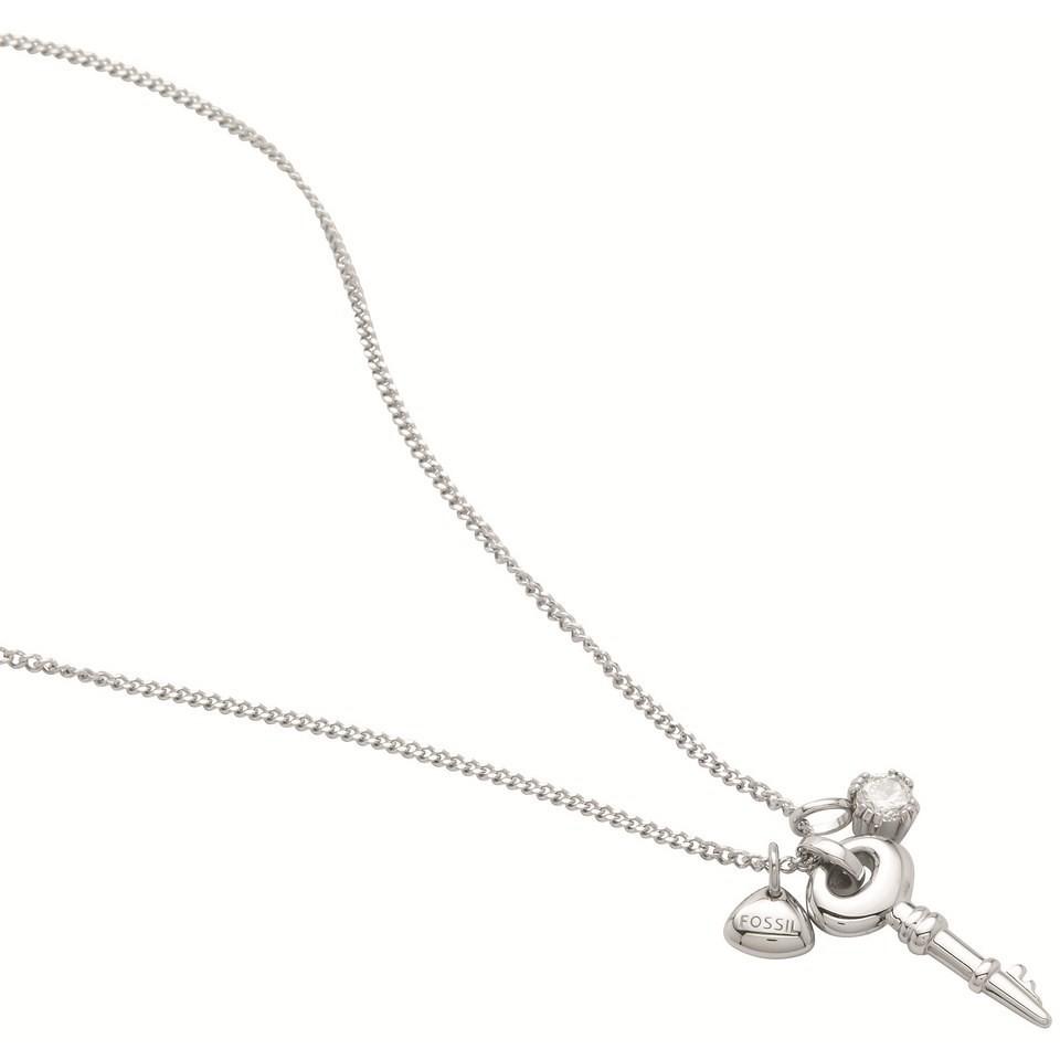 collana donna gioielli Fossil JF86596040