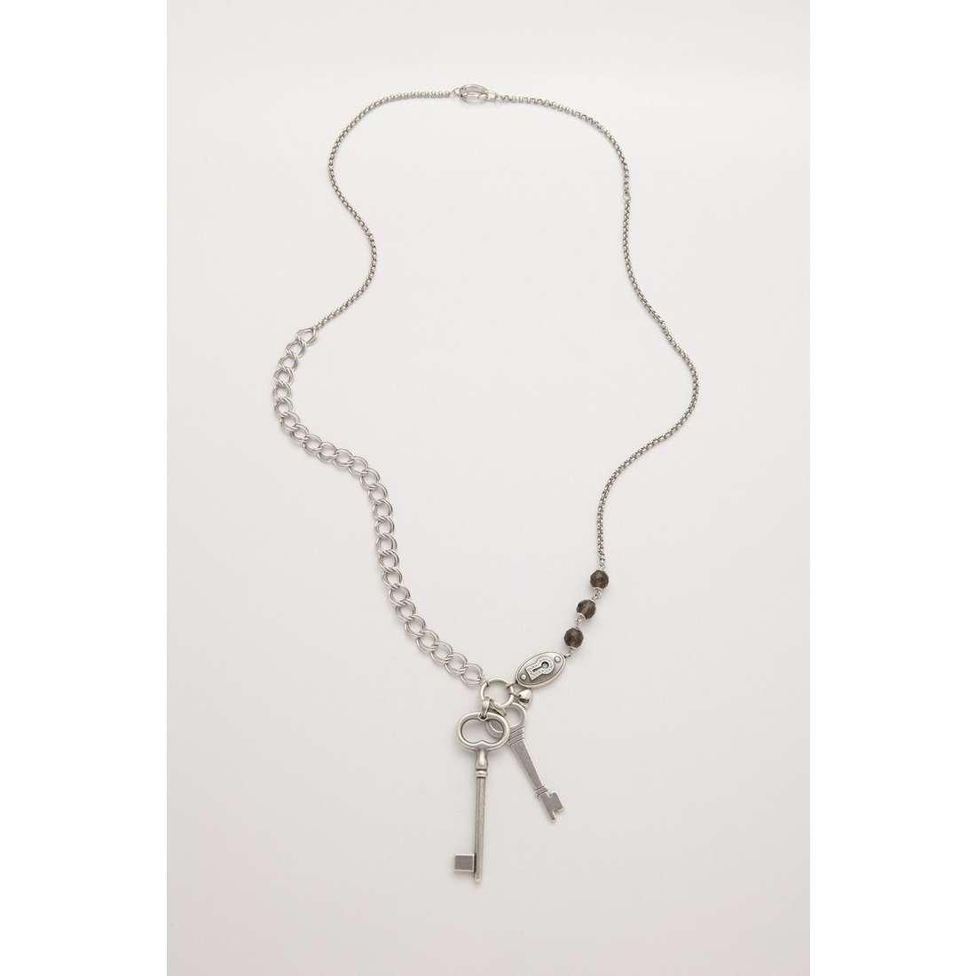 collana donna gioielli Fossil JF86672040