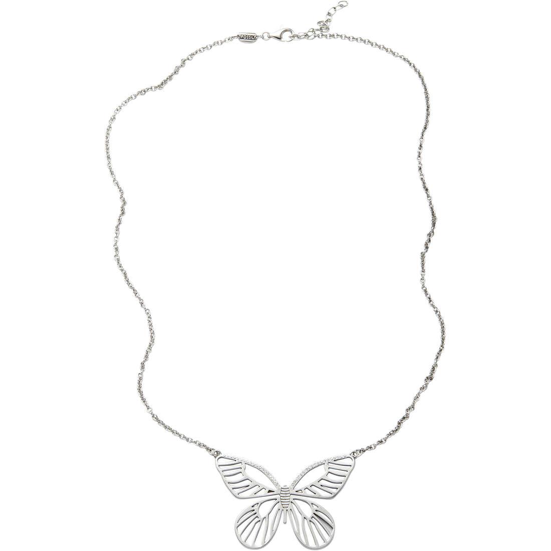 collana donna gioielli Fossil JF87811040