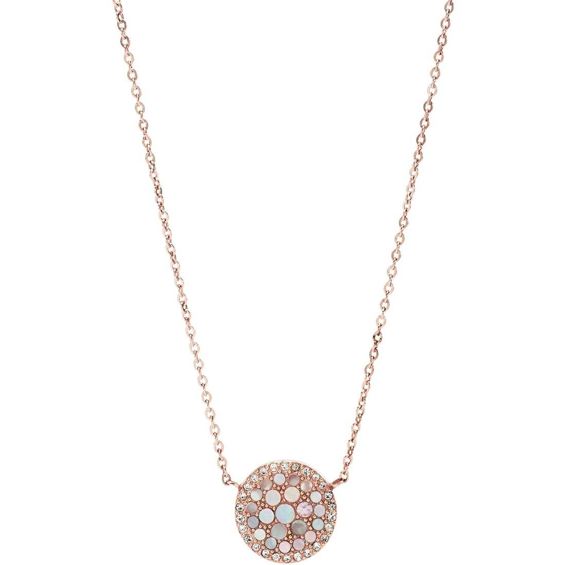 collana donna gioielli Fossil Spring 15 JF01740791