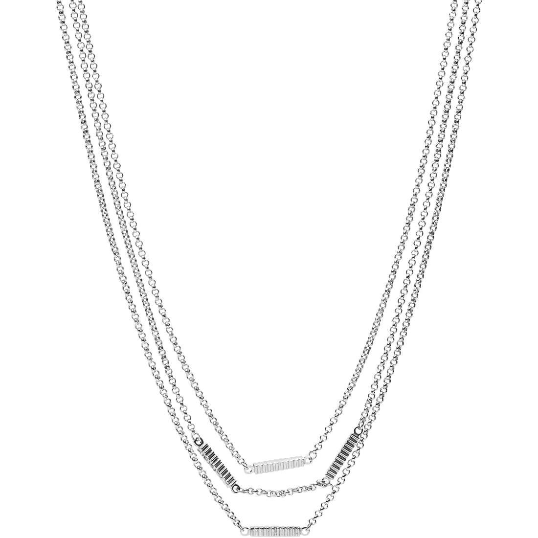 collana donna gioielli Fossil Spring 16 JA6786040