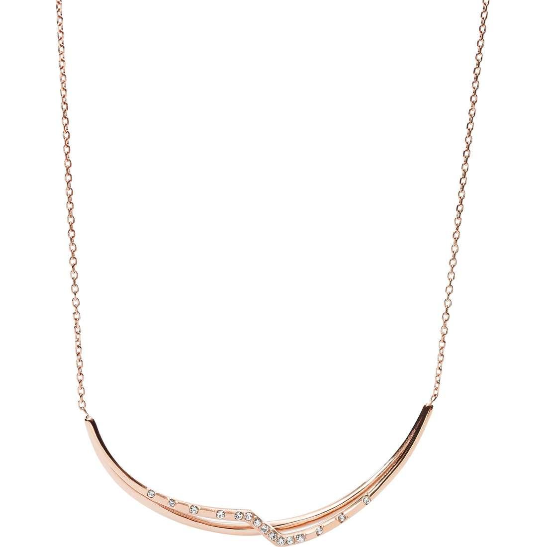 collana donna gioielli Fossil Spring 16 JF02254791