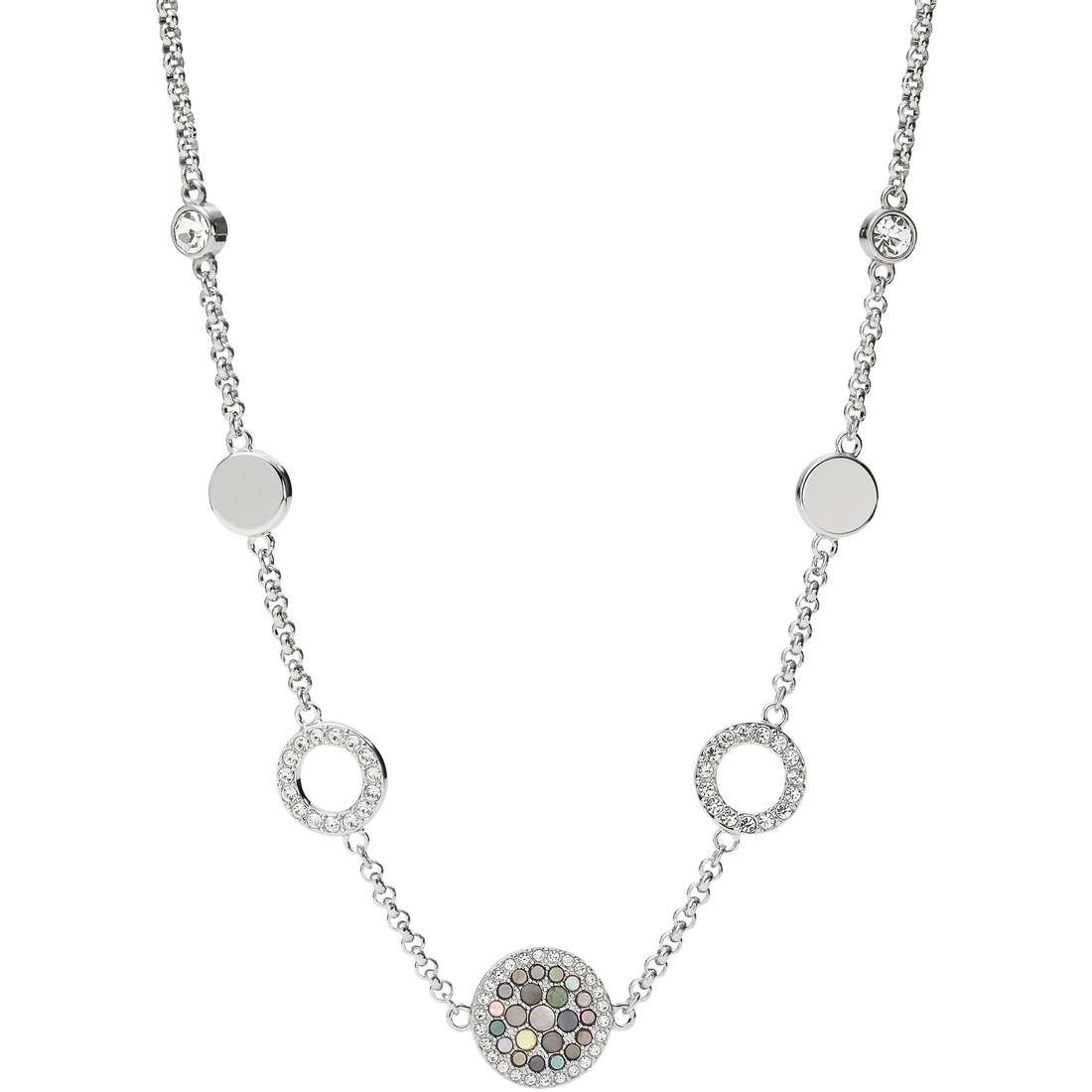 collana donna gioielli Fossil Vintage Glitz JF02312040