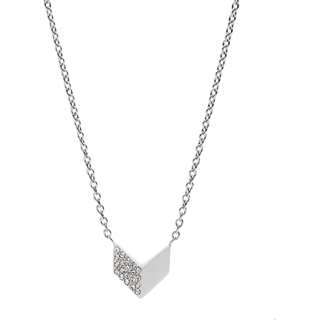 collana donna gioielli Fossil Vintage Glitz JF02432040