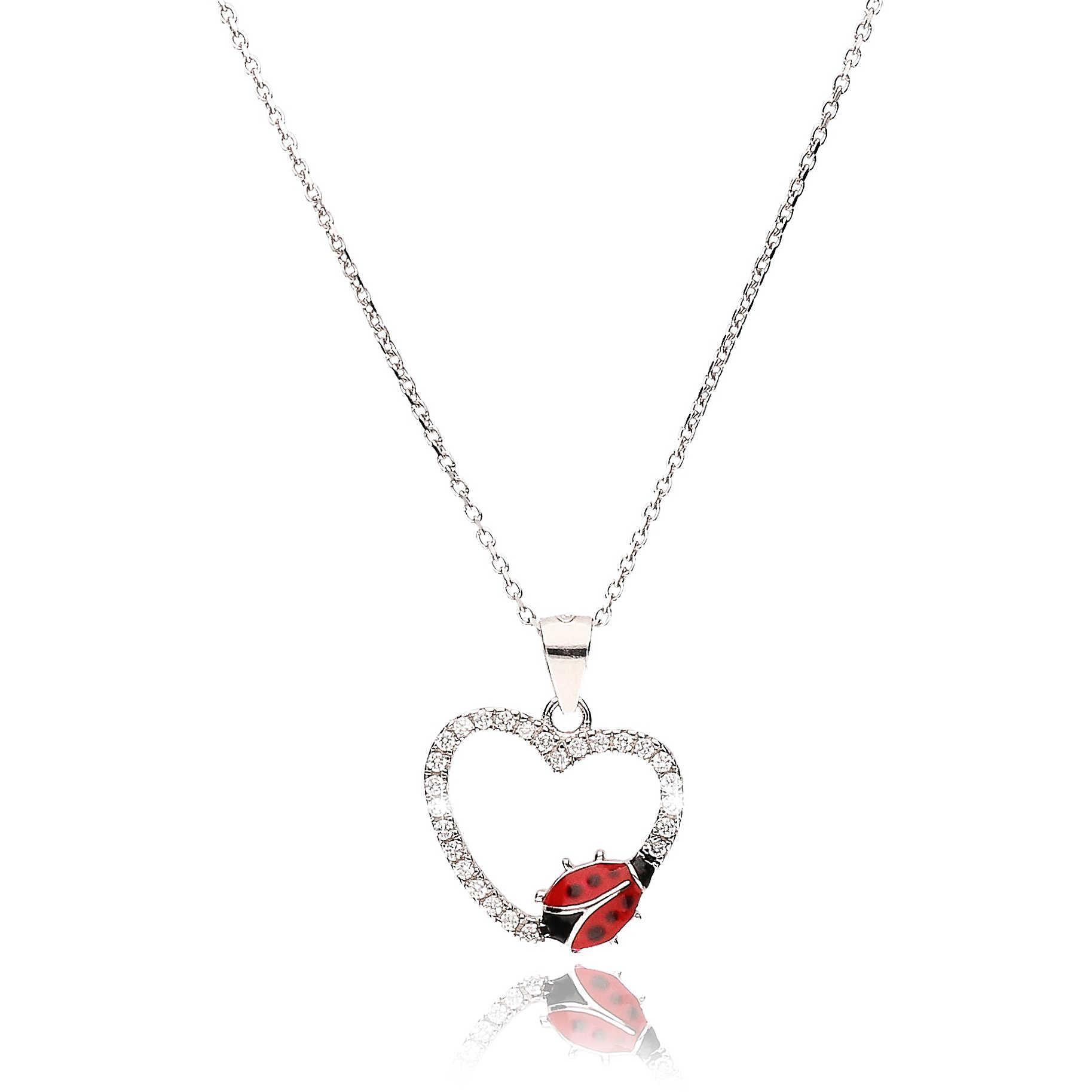 design di qualità f4b3a 87661 collana donna gioielli GioiaPura Coccinella GPSRBS0389F-R-43