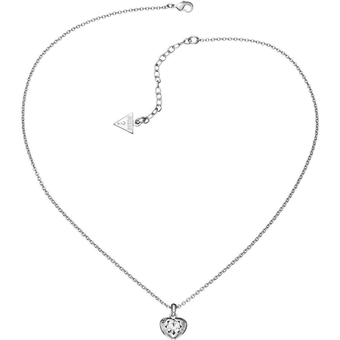 collana donna gioielli Guess CRYSTALS OF LOVE UBN51419