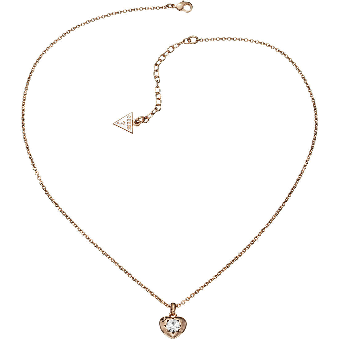 collana donna gioielli Guess CRYSTALS OF LOVE UBN51421