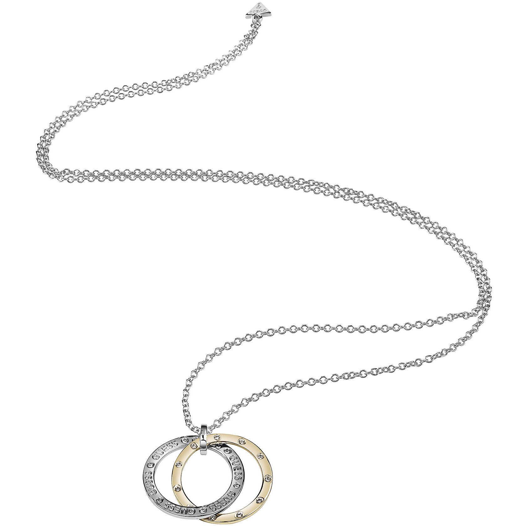 nuovo stile e7398 0992f collana donna gioielli Guess E-Motions UBN83101