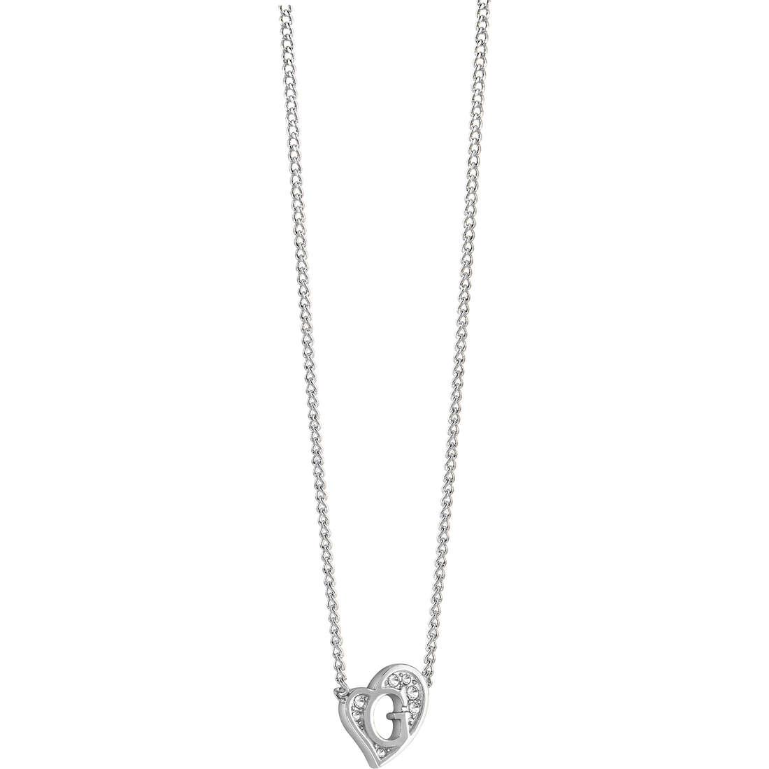 collana donna gioielli Guess G Hearts UBN71536