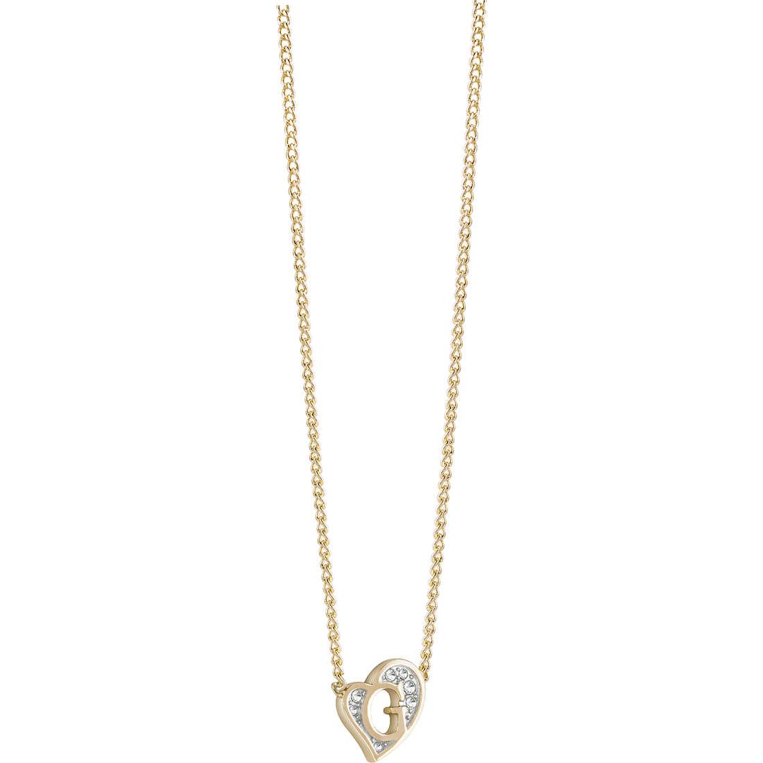 collana donna gioielli Guess G Hearts UBN71537