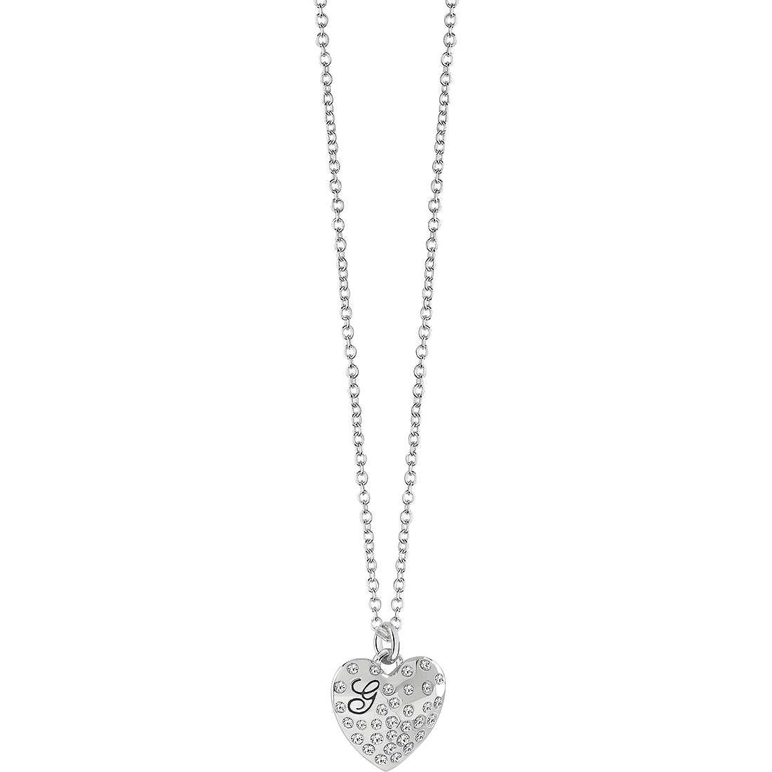 collana donna gioielli Guess GLOSSY HEARTS UBN51471