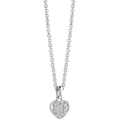 collana donna gioielli Guess Heartshelter UBN71527