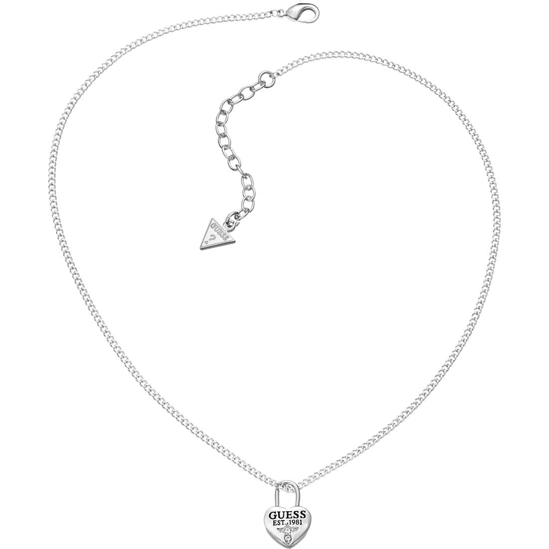 collana donna gioielli Guess Love Lock UBN51449