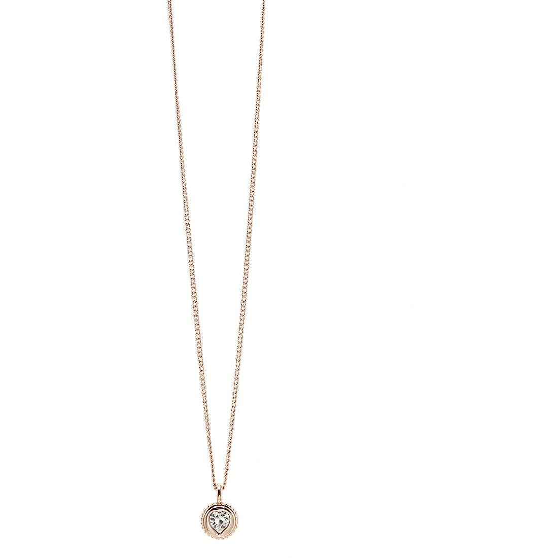 collana donna gioielli Guess Rose Gold UBN21531
