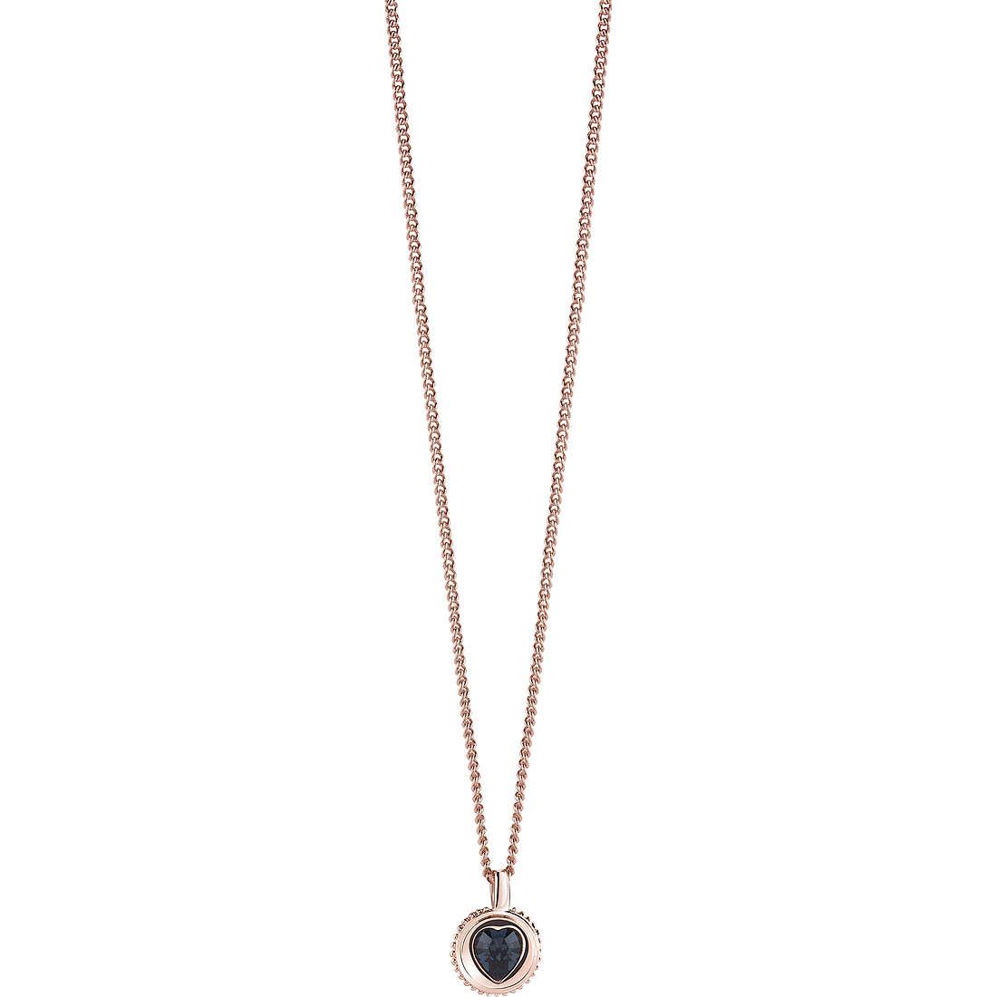 collana donna gioielli Guess Rose Gold UBN21532