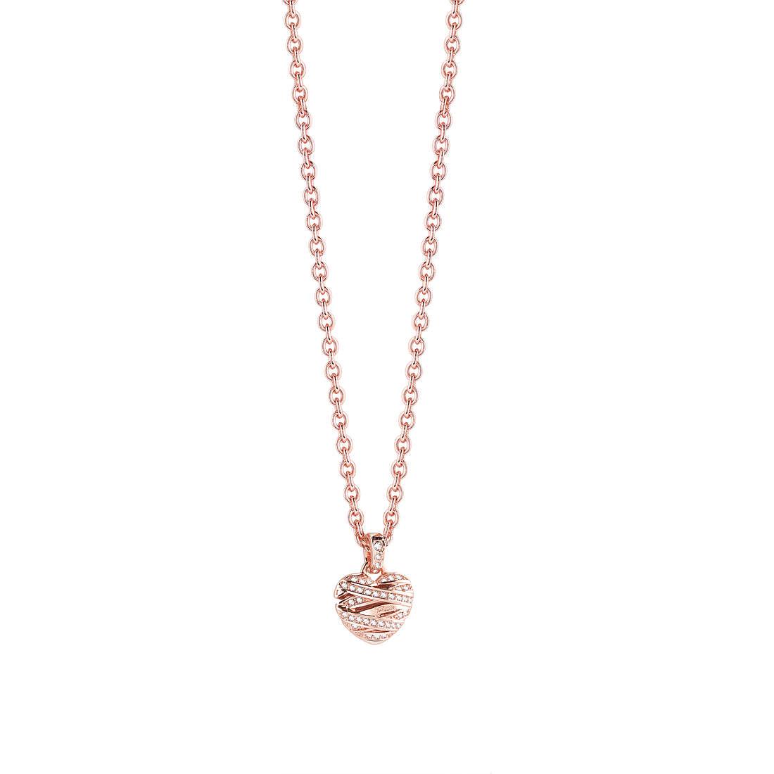 collana donna gioielli Guess Rose Gold UBN21610