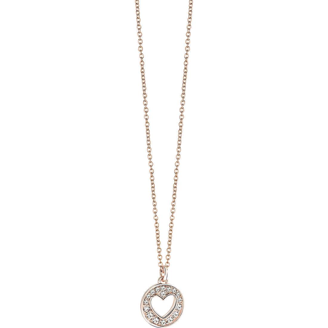 collana donna gioielli Guess Rose Gold UBN51476