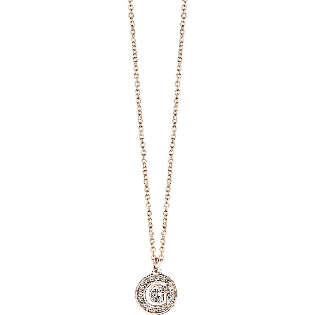 collana donna gioielli Guess Rose Gold UBN51480