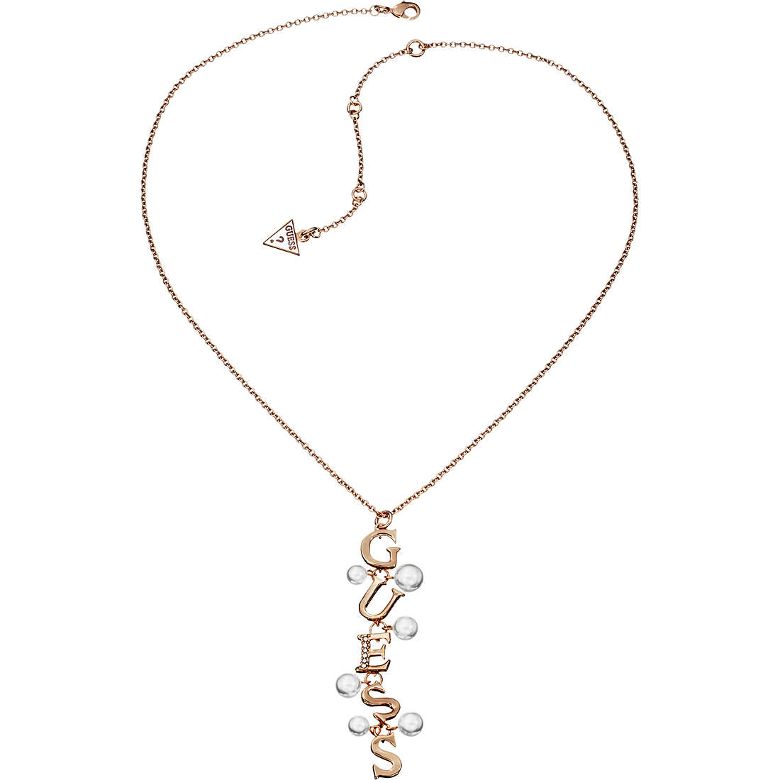 collana donna gioielli Guess YOUNG CONTRASTS UBN51464