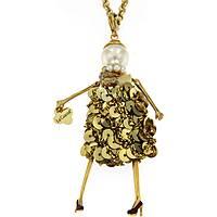 collana donna gioielli Le Carose Letterine CALET03