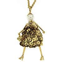 collana donna gioielli Le Carose Letterine CALET06