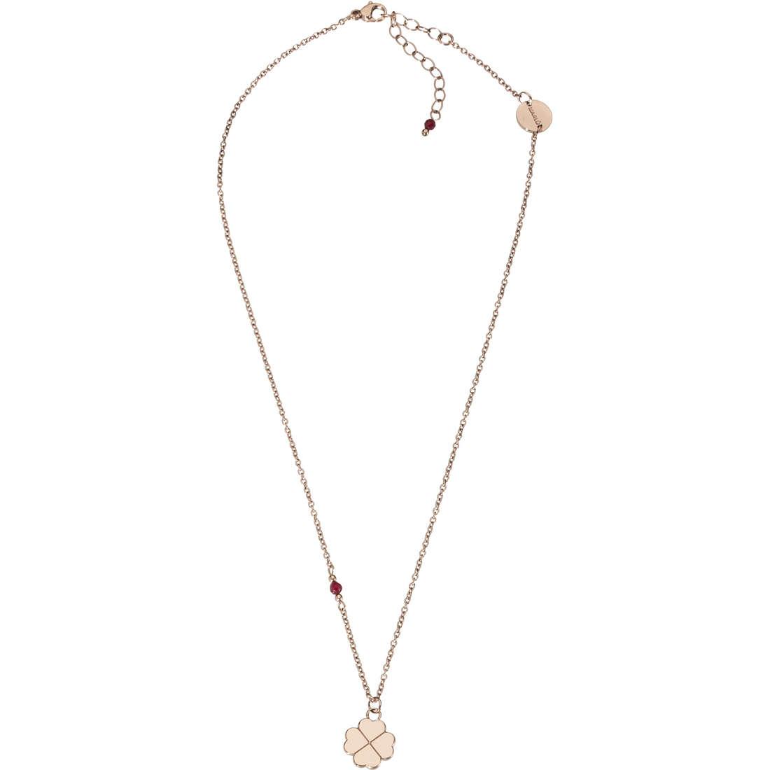 collana donna gioielli Marlù Clover 18CN026R