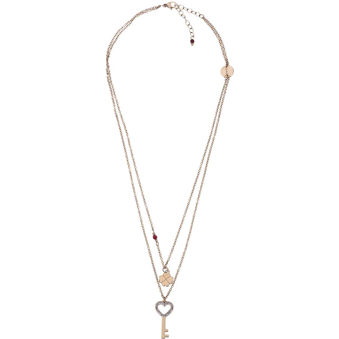collana donna gioielli Marlù Clover 18CN027R