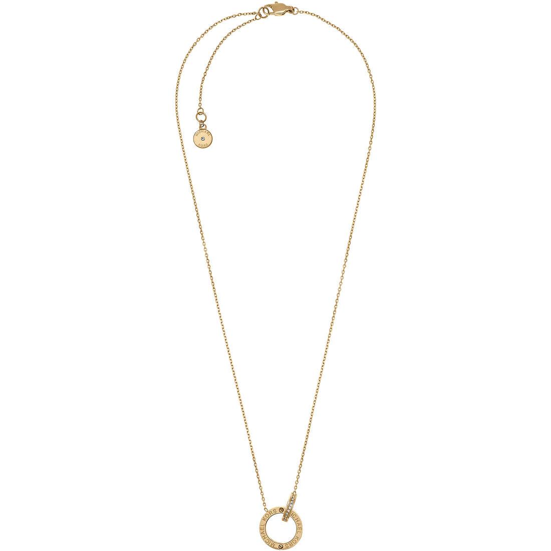 collana donna gioielli Michael Kors Logo MKJ4678710