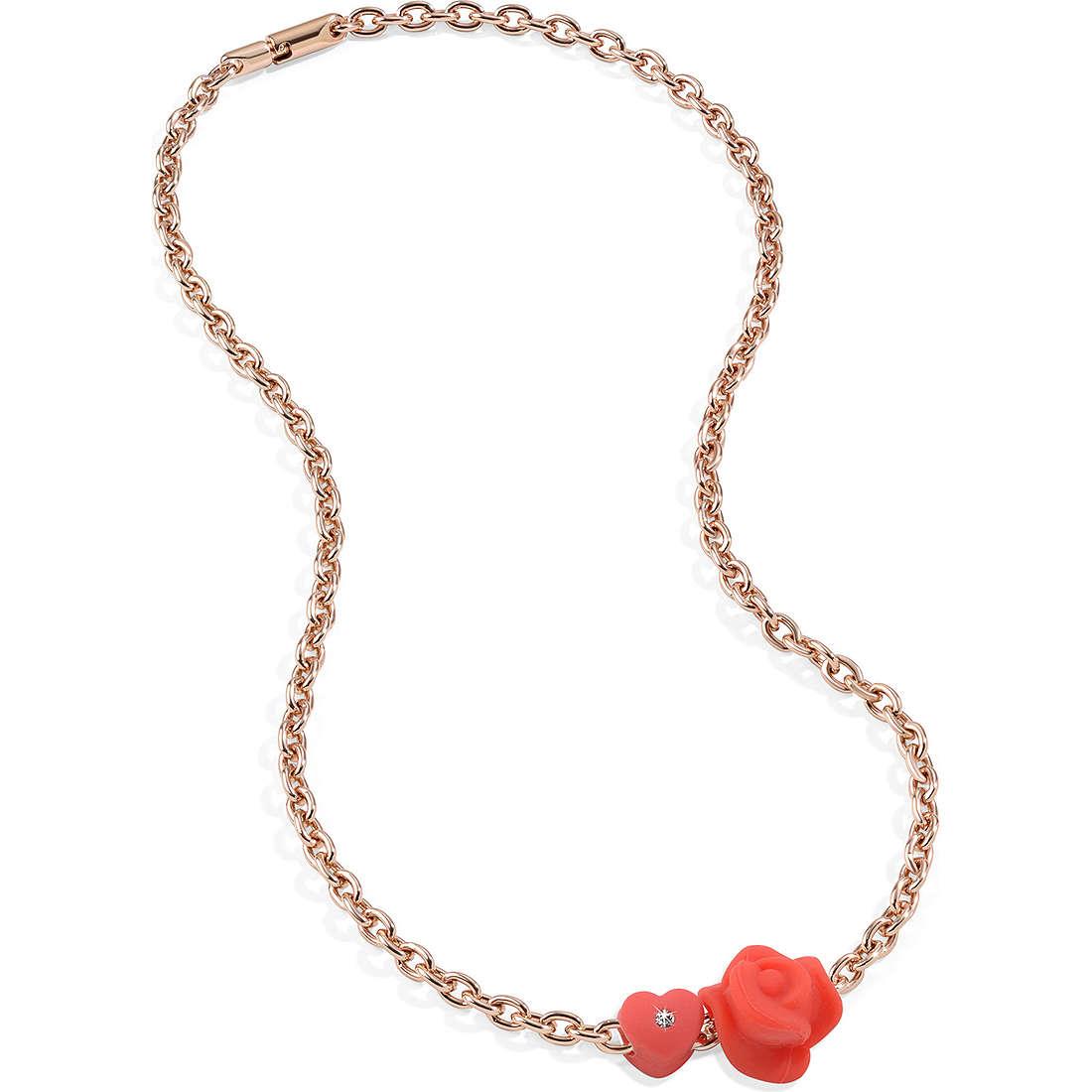 collana donna gioielli Morellato Drops Colours SABZ187