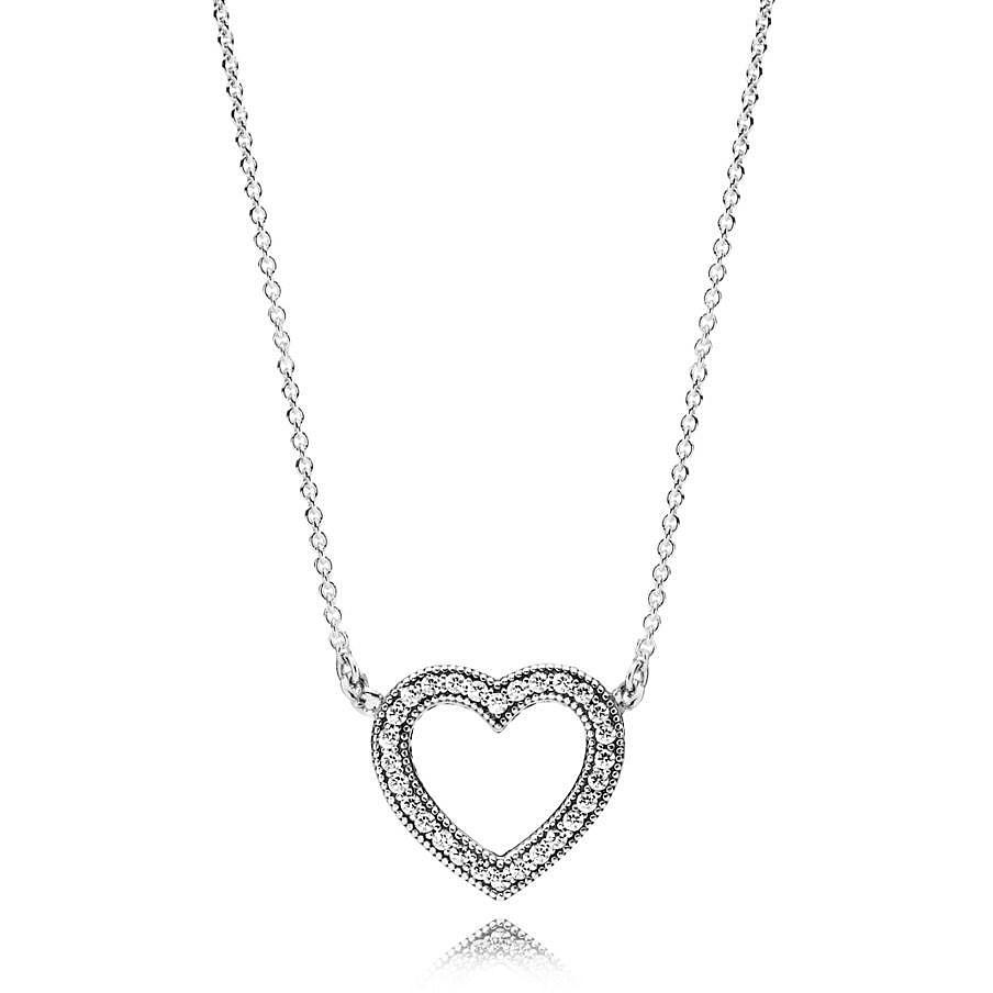 a basso prezzo 758ad 644d3 collana donna gioielli Pandora 590534CZ-45