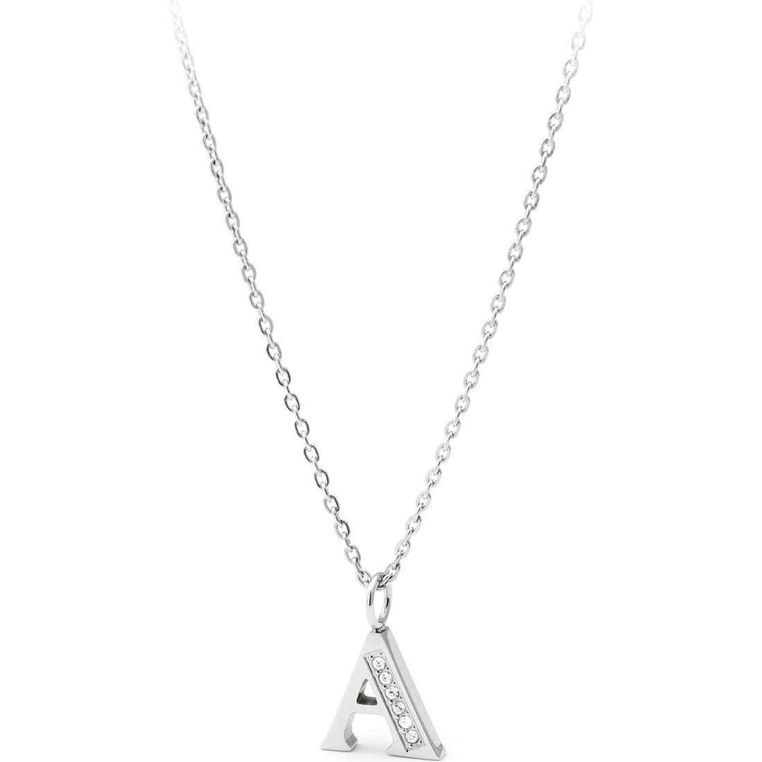 collana donna gioielli Sagapò Alphabet SALA1