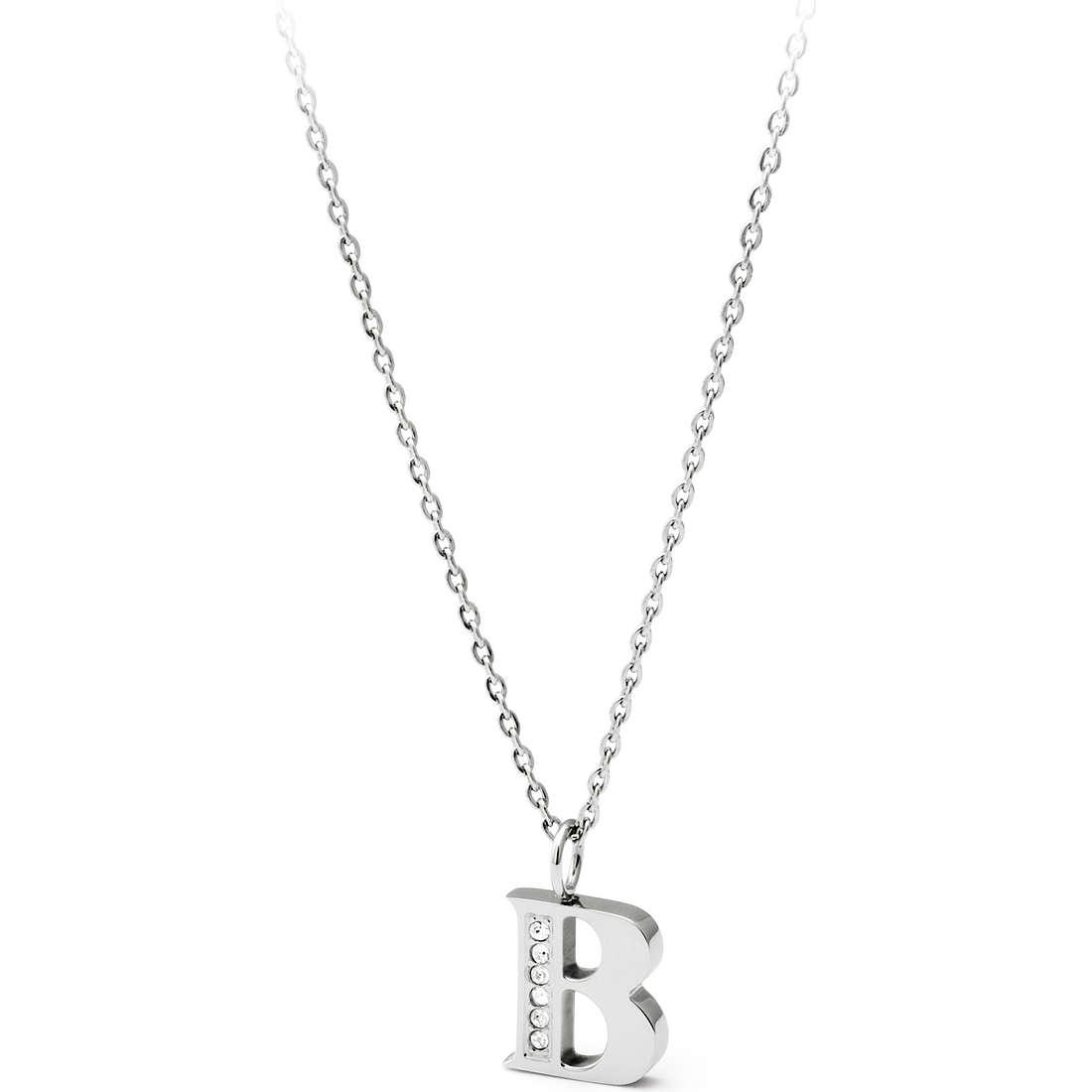 collana donna gioielli Sagapò Alphabet SALB1