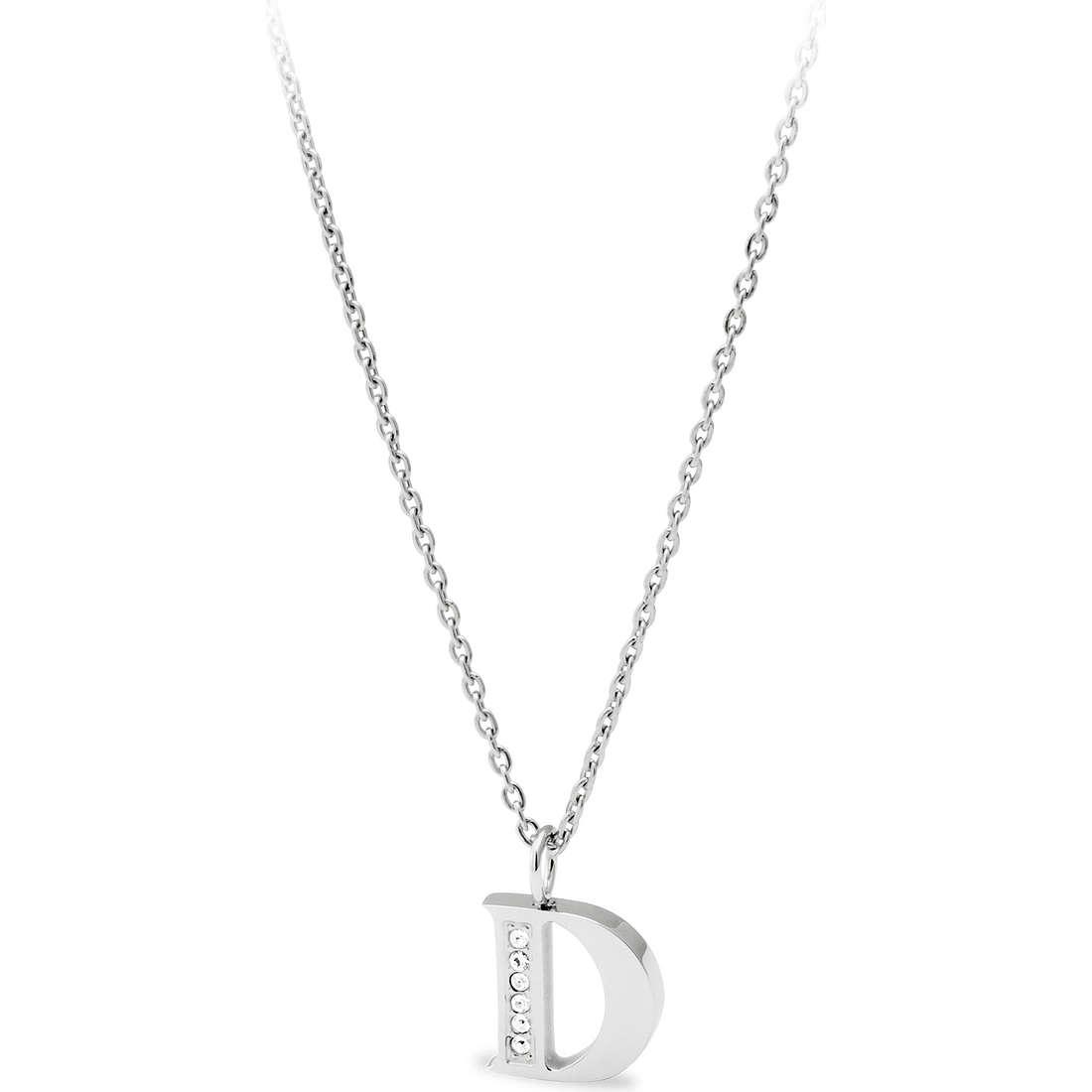 collana donna gioielli Sagapò Alphabet SALD2