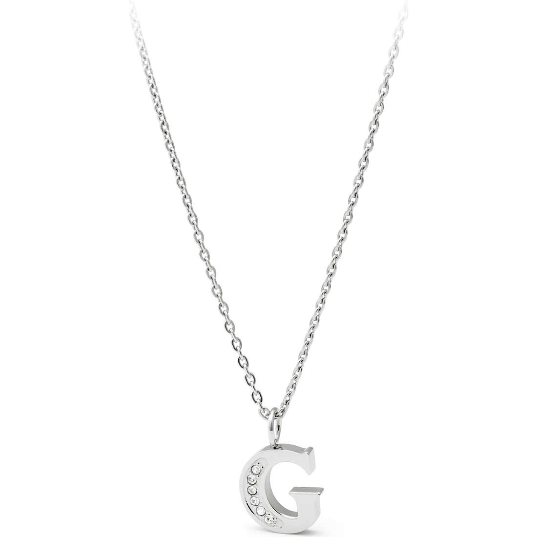 collana donna gioielli Sagapò Alphabet SALG2