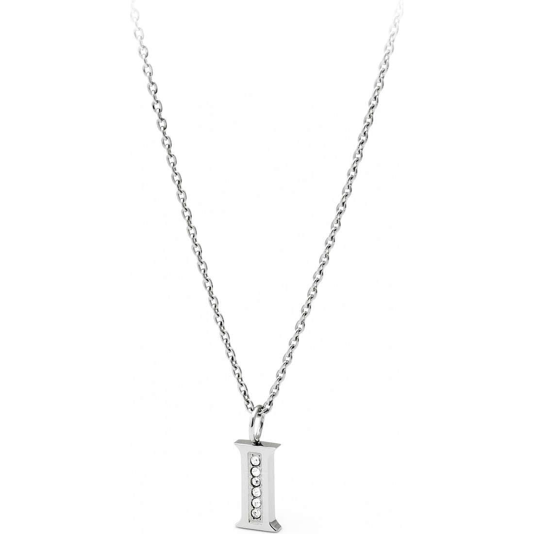collana donna gioielli Sagapò Alphabet SALI1