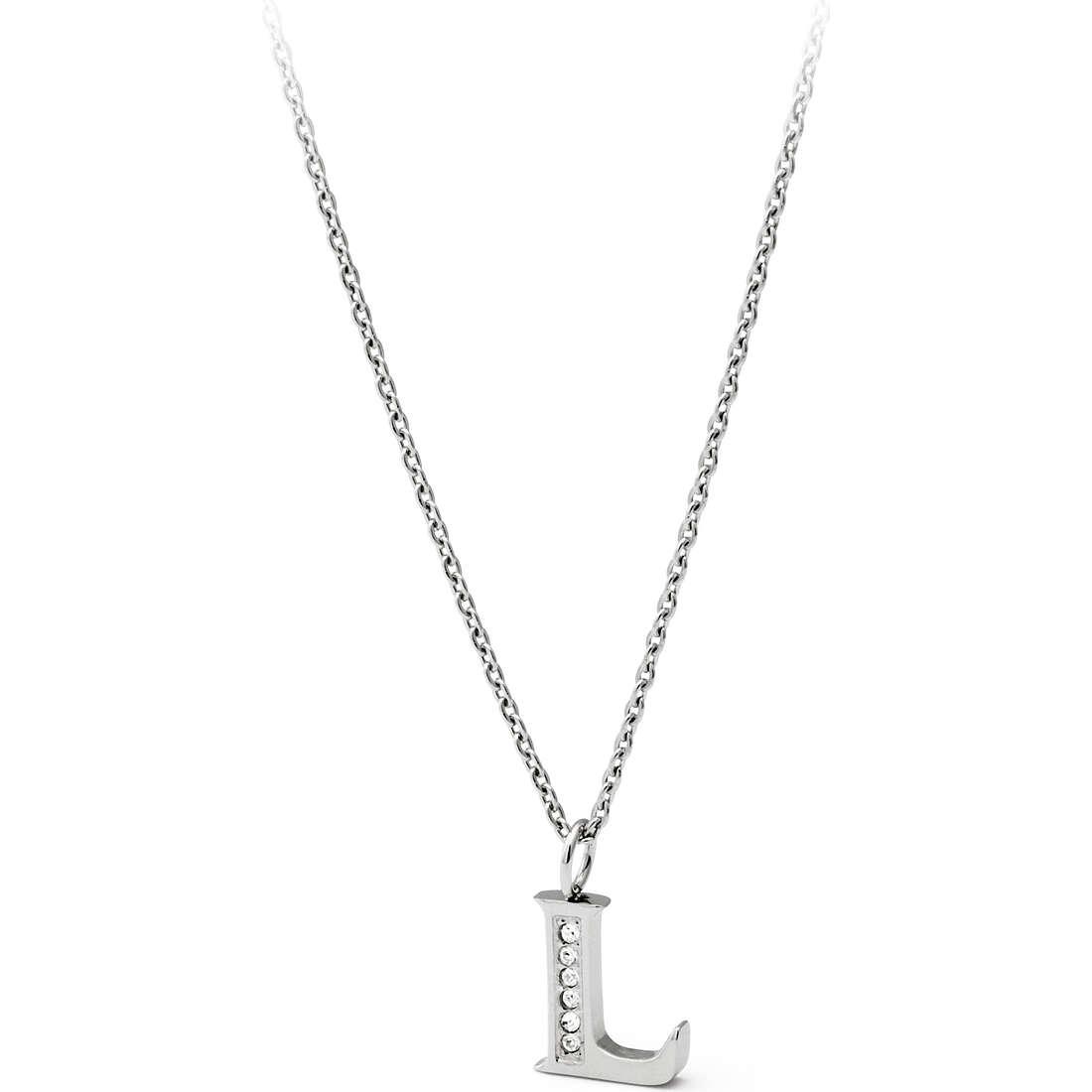 collana donna gioielli Sagapò Alphabet SALL2