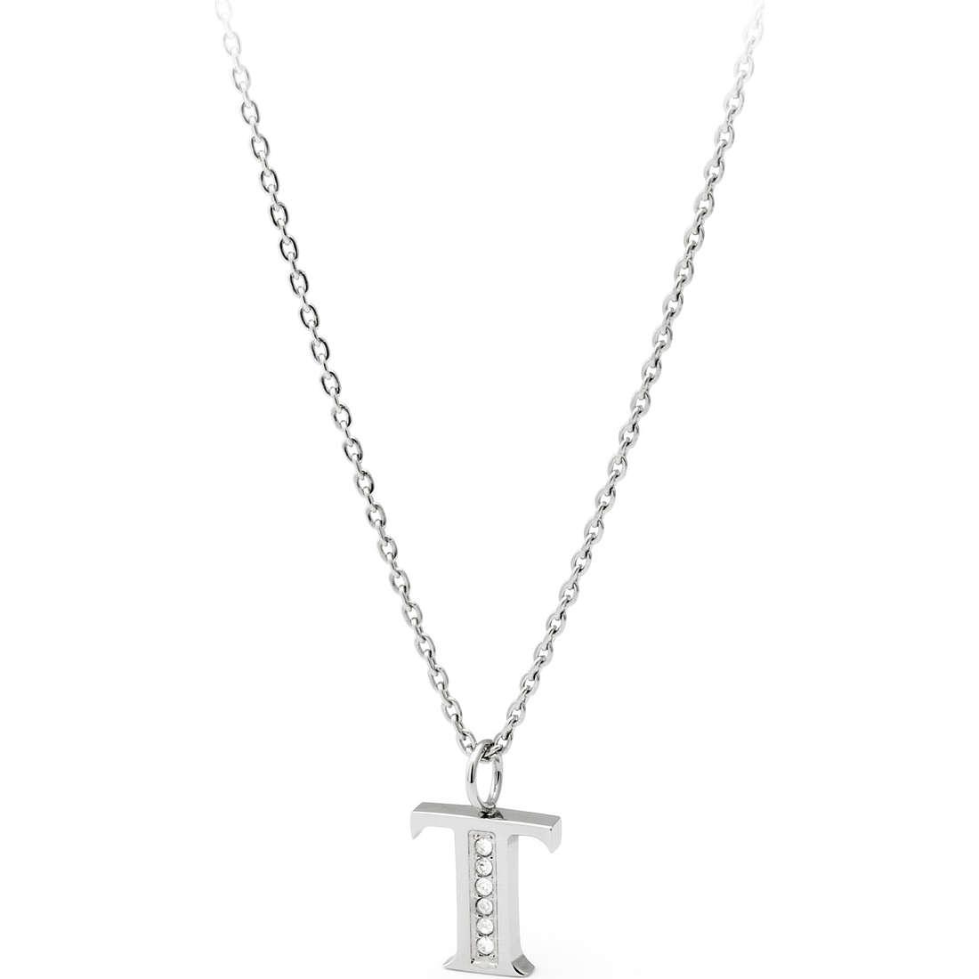 collana donna gioielli Sagapò Alphabet SALT2