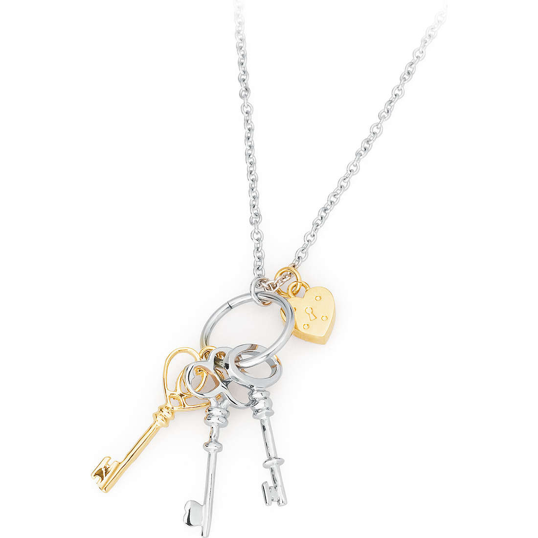 collana donna gioielli Sagapò LOCKEY SLK02