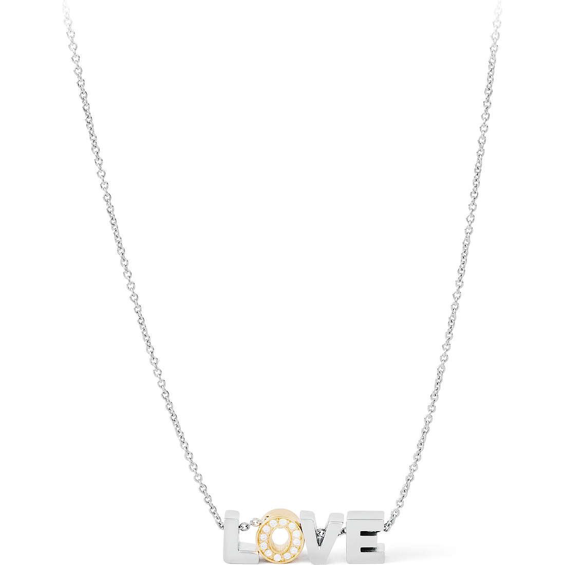 collana donna gioielli Sagapò Love SLO01