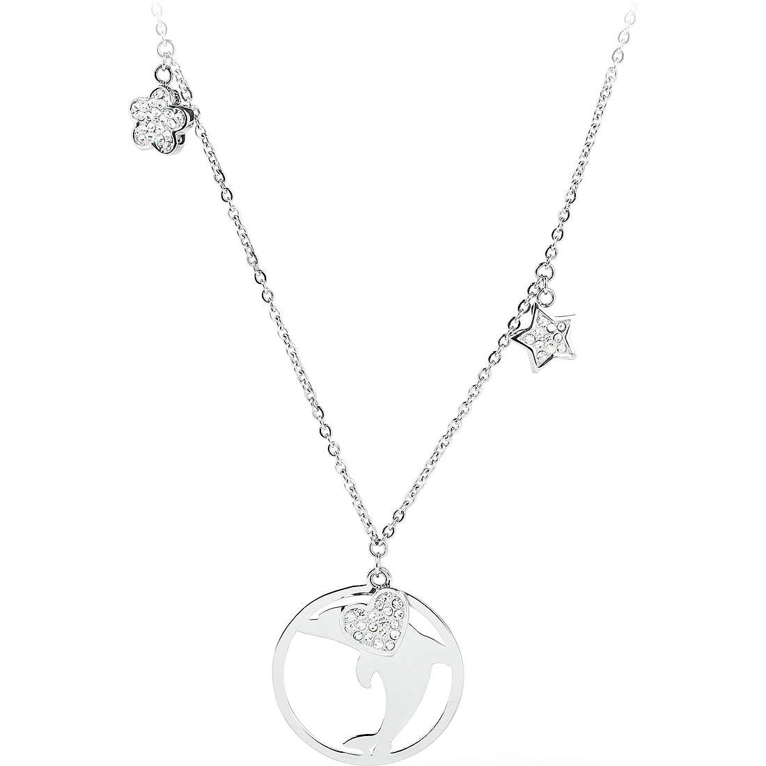 collana donna gioielli Sagapò Lucky Hoop SLH06