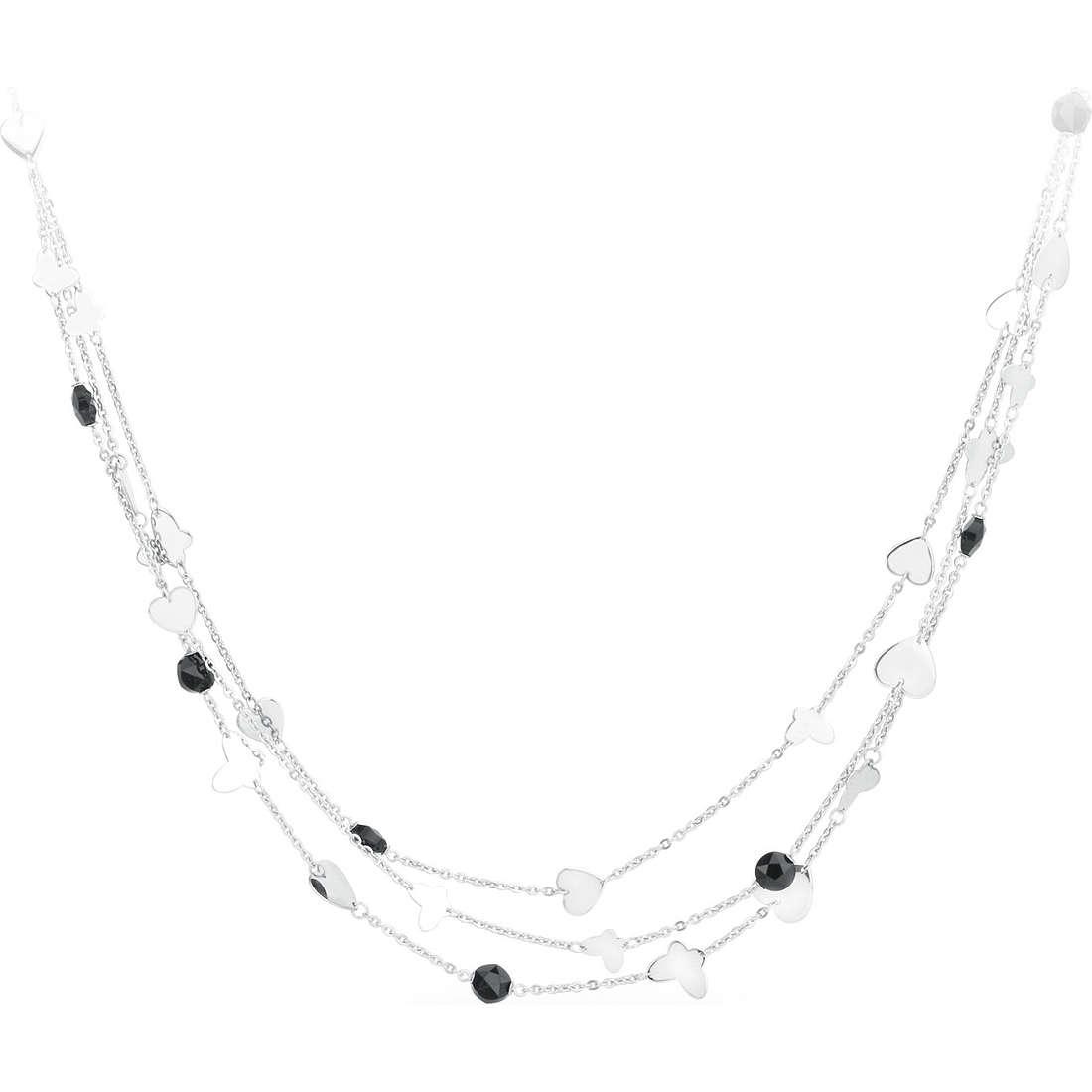 collana donna gioielli Sagapò Noir SNR02